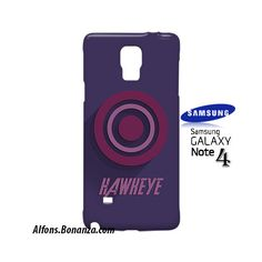 Hawyeke Superhero Samsung Galaxy Note 4 Case
