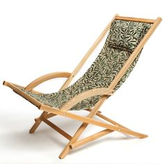 Solgunga with beautiful fabric designed by William Morris, Willow Bough.