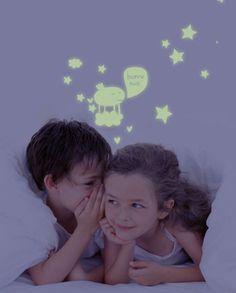 Stickers phosphorescents Patate volante par Lucie Georger $25 #LesContemplatives #enfants #deco #stickers #child #kids