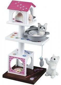 Takara-Tomy-Licca-Doll-Cat-Tower-Set