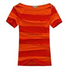 Burberry Women T-Shirt 2014-2015 S-2XL BWS038(3 colors)