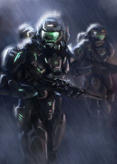 Space Soldiers by ~CarsonFackler on deviantART