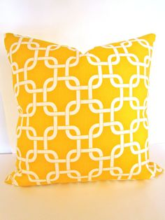 THROW PILLOW 18x18  Decorative Throw Pillows by SayItWithPillows, $15.95