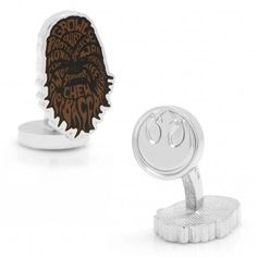 Chewbacca Typography Cufflinks