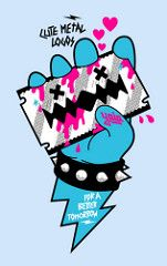 Cute Metal Logos for a better tomorrow - Judas (YAIAGIFT™) Tags: tshirt tomorrow better yaia a