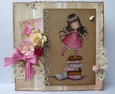 1/16/2012; Jane at 'Jane's Lovely Cards' blog;  Gorjuss Girls