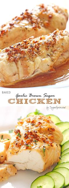 if you want to cheer your senses with a dish that seems like ordered in an exclusive restaurant, in addition to the fact that you personally made it a very easy way, then this garlic brown sugar chicken is the right choice for you.