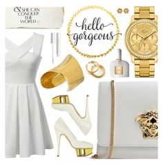 """Make a Statement"" by pastelneon ❤ liked on Polyvore featuring Versace, Charlotte Olympia, tarte, Lacoste, Tom Ford, Charlotte Tilbury and Maiyet"