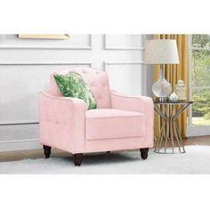 Buy Novogratz Vintage Tufted Armchair, Multiple Colors at Walmart.com - Free Shipping