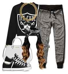 """""""Thx for 1 million views"""" by lulu-foreva ❤ liked on Polyvore featuring Retrò, Forever 21, Abercrombie & Fitch, Michael Kors, Gogo Philip and Converse"""