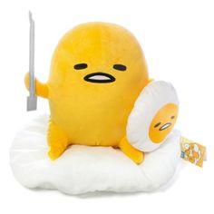 KAWAMONO Sanrio Gudetama lazy egg knight style stuffed plush doll height  30cm by FuRyu Japan doll 333d9cece6f55