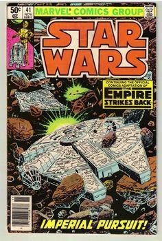 November 1980 Star Wars #41 Marvel Comic Book - Rare & Hard to Find - Vintage