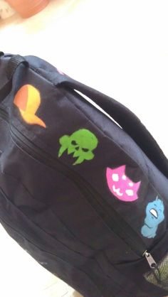 SWEET ARTS AND HELLA CRAFTS, leaningonthefourthwall: My Homestuck backpack! A...