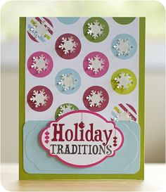 DIY Christmas Card Ideas | ... -holidazzle-snowflake-mini-pocket-punch-christmas-card-idea.html