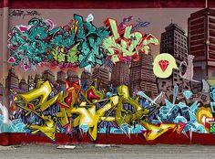 KATRE http://www.widewalls.ch/artist/katre/ #graffiti #street #art #urban #art