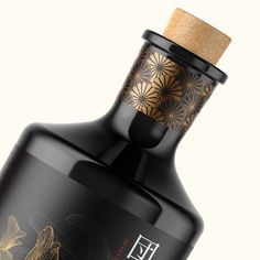 Unification whisky bottle and label design by Suckerpunch. #suckerpunch #knockoutidentity #logodesign #branding #corporateidentity #capetown #graphicdesign #typography #lettering #brandingagency #designstudio #type #capetown #johannesburg #southafrica #taste #singlemalt #whisky #illustration #marula #yingyang #blackbottle #packaging #koifish #fish #labeldesign #japanese #alcohol #spirits Design Agency, Branding Design, Logo Design, Graphic Design, Whiskey Brands, Label Design, Package Design, Promotional Design, Article Design