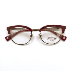 Coach Eyeglass Frames Red : 1000+ ideas about Coach Glasses Frames on Pinterest ...