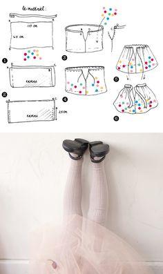 DIY tutu confetti