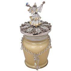 Kirks Folly Merlin's Magic Candle With Bracelet (Silvertone/Fairy Magic)