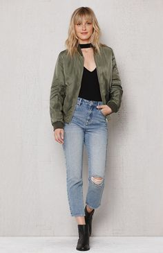 Park Ave Ripped Retro Jeans at PacSun.com