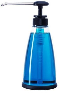 Progressive International Acrylic Soap Dispenser by Progressive. $10.14. Features a comfortable santoprene pump knob and a rubber, non-skid, non-marring base. Comes unfilled and will hold up to 12-1/2 ounces; safe to clean in the dishwasher between uses. Extra-long spout allows dispenser to easily apply contents to brushes and sponges or pump directly into sink. Serving multiple purposes, the dispenser can also be used for body lotions as well as soap. Durably constructed of ...