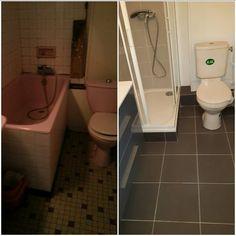 Renovation de toute la plomberie dans une salle de bain à paris 18emme