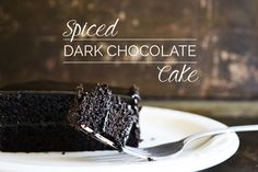 Spiced Dark Chocolate Cake :: Grain-Free, Dairy-Free, Paleo