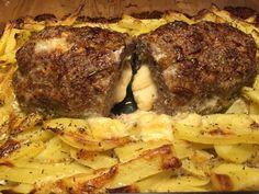 Hackbraten mit Käsefüllung, ein beliebtes Rezept aus der Kategorie Kartoffeln. Bewertungen: 123. Durchschnitt: Ø 4,6.