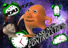 The time is missing : surrealmemes