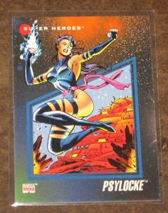 Marvel Universe Series 3 (Impel 1992) Card #51 Psylocke NM