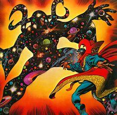 Gene Colan - Dr. Strange, 1980.