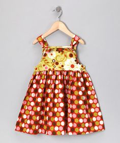 Take a look at this Indian Summer Knot Dress - Infant, Toddler & Girls by Booth Parker & Girl Time on #zulily today!