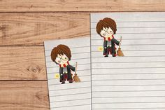 Harry Potter and Friends - A5 Stationery - 12, 24 or 48 sheets