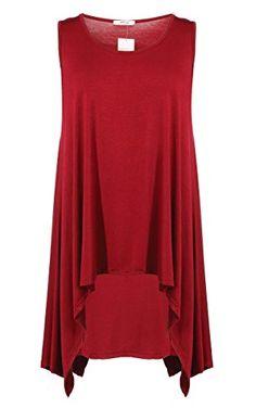 Meaneor Women's Plus Size Sleeveless Asymmetric Tunic Top Meaneor http://www.amazon.com/dp/B00XQSGJ9Y/ref=cm_sw_r_pi_dp_rzzYvb1HGS6S1