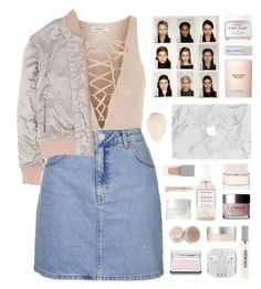 """""""Geen titel #482"""" by s-ensible ❤ liked on Polyvore featuring Topshop, Herbivore, Givenchy, Estée Lauder, Clinique, SUQQU, Christian Dior, Stila, RMK and Nicopanda"""