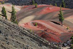 Fantastic Lava Beds Lassen   ... und Painted Dunes Fantastic Lava Beds [Lassen Volcanic National Park