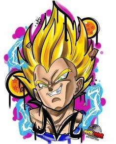 Aprenda a desenhar seu personagem favorito agora, clique na foto e saiba como! dragon ball z, dragon ball z shin budokai, dragon ball z budokai tenkaichi 3 dragon ball z kai dragon ball z super dragon ball z dublado dbz Majin Tattoo, Z Tattoo, Cartoon Tattoos, Anime Tattoos, Dragon Ball Gt, Manga Dragon, Graffiti Drawing, Sketches, Fan Art