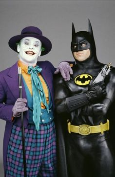 Jack Nicholson was not the first choice to play the Joker in Tim Burton's 1989 portrayal of Batman