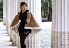 Il cerchio, capo universale di Sabrina Attiani http://shop.sabrinattiani.com/shop/capispalla-outerwear-coat/shearling-circle/