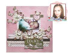 scrap Moniki na papierze kolekcji Victoriana Scrapbooking, Frame, Baby, Home Decor, Victorian, Picture Frame, Decoration Home, Room Decor, Baby Humor