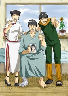 I want to laugh and cry all at once. Team Gai really got the short end of the stick.