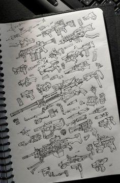 ArtStation - guns, kung jazz
