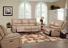 The Vail Collection by Parker House presents upgraded transitional style with scoop seating and pillow top back. The pieces feature Power Headrests and USB Ports and are upholstered in Pebble top grain leather match. Timeless look for any home! Parker House, Power Recliners, High Quality Furniture, Reclining Sofa, Transitional Style, Living Room Sets, Sofa Set, Love Seat, Couch