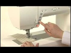Janome 15000 Instructional Video Compliments of Janome Flyer