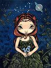 Jasmine Becket-Griffith art BIG print SIGNED Capricorn astrological sign january on eBay for $29.99