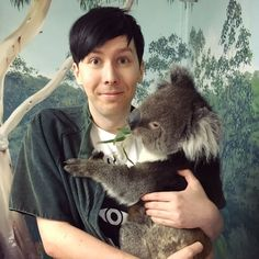 I just love Phil so much. DON'T TELL ME HE'S NOT BEAUTIFUL. He is lovely.