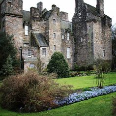 Kellie Castle and Garden in early Spring.