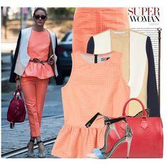 """""""Celebrity Style: Olivia Palermo"""" by juliak on Polyvore"""