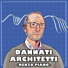 Ascolta la puntata di Dannati Architetti dedicata a Renzo Piano. #renzopiano #vita #opere #biografia #dannatiarchitetti #architettura #storia