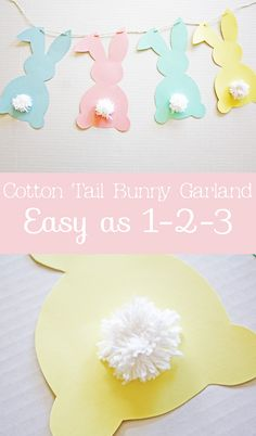 Easter is almost upon us, so to get us all inspired and excited, I am sharing these Easter Bunny Crafts, Activities and Treat Ideas.